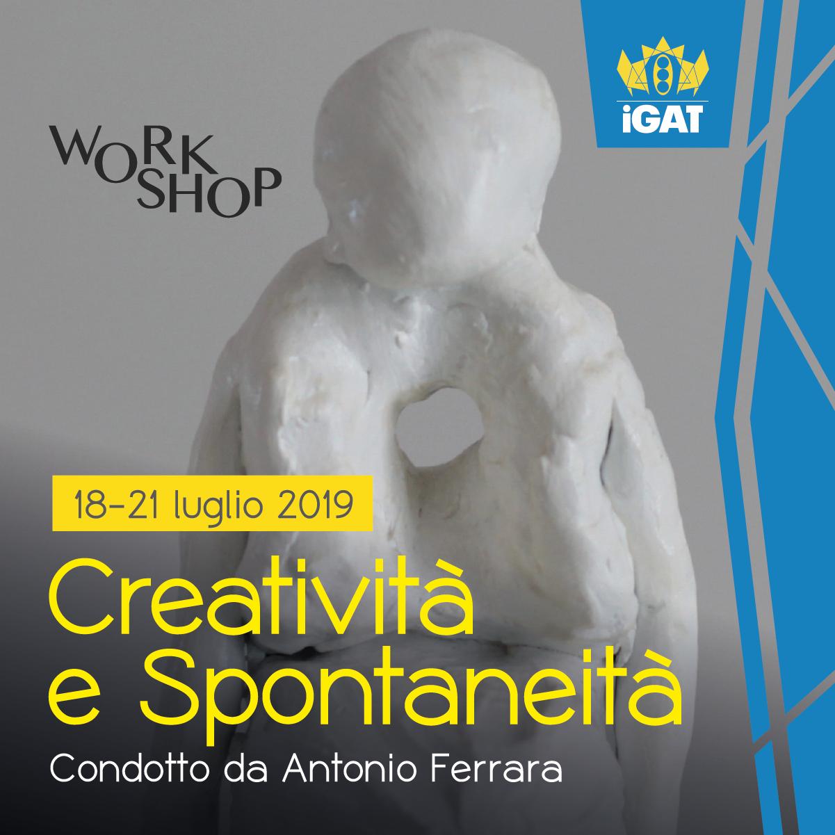 Img Creatività e Spontaneità Workshop 2019