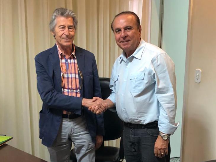 Antonio Ferrara e Aparicio Carvalho