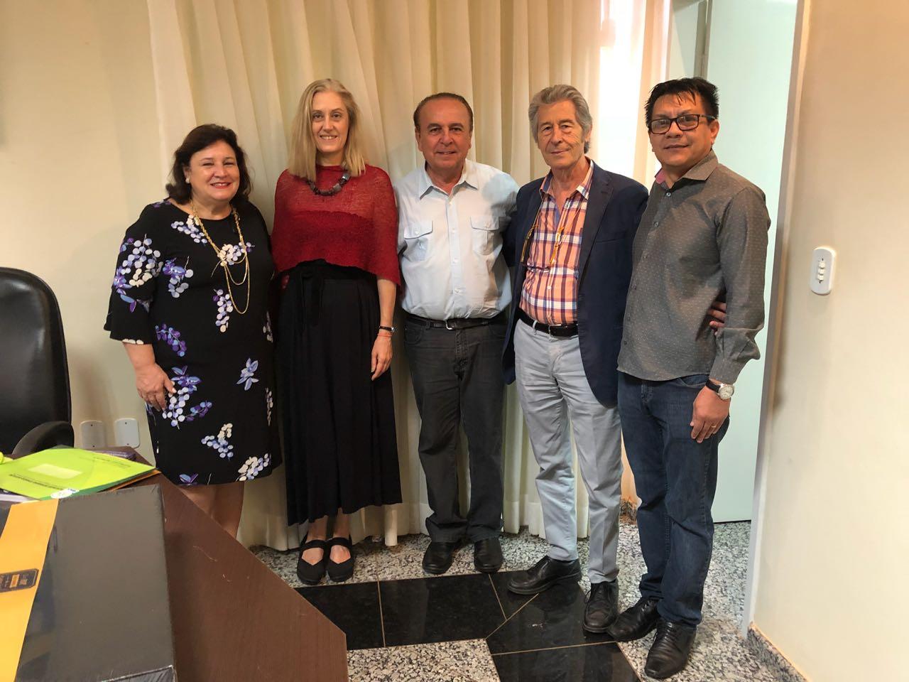 Maria Silvia Fonseca Ribeiro Carvalho De Moraes, Sonia Zangarini, Aparicio Carvalho e Antonio Ferrara